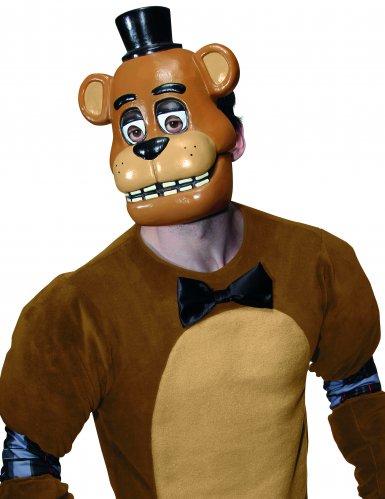 Máscara PVC Freddy™ videojuego Five nights at Freddy's adulto