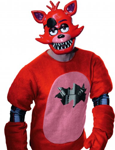 Máscara PVC Foxy™ videojuego Five nights at Freddy's para adulto