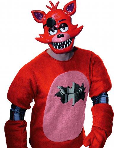 Máscara PVC Foxy™ videojuego Five nights at Freddy's para adulto