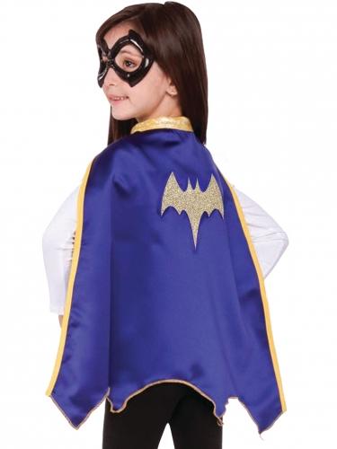 Capa y antifaz Batgirl Super Hero Girls™ niño