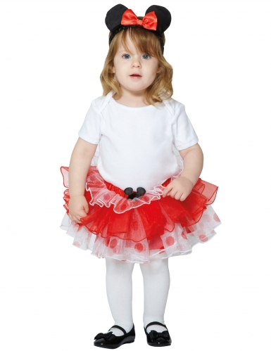 Disfraz tutú Minnie™ niña