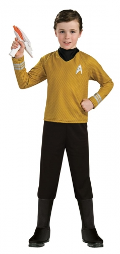Disfraz de lujo capitán Kirk Star Trek™ niño