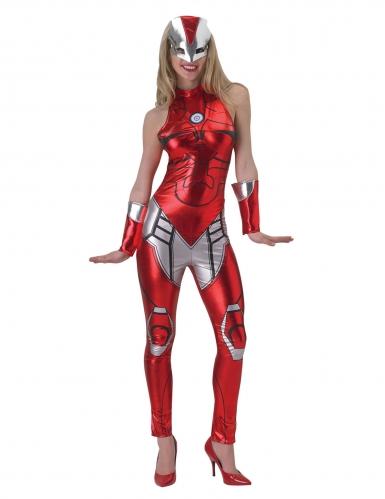Disfraz mono Iron Girl™ mujer