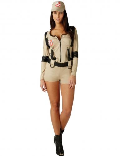 Disfraz traje corto Ghostbusters™ mujer