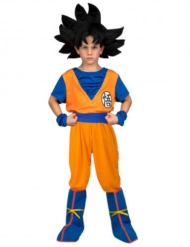 Disfraz con peluca Goku Dragon Ball™ niño en caja