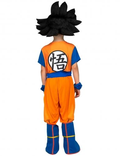 Disfraz con peluca Goku Dragon Ball™ niño en caja-2