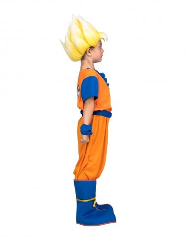 Disfraz Super Saiyajin Goku Dragon Ball™ niño con peluca en caja-1