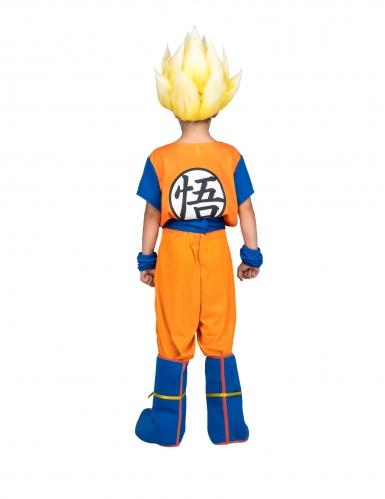 Disfraz Super Saiyajin Goku Dragon Ball™ niño con peluca en caja-2