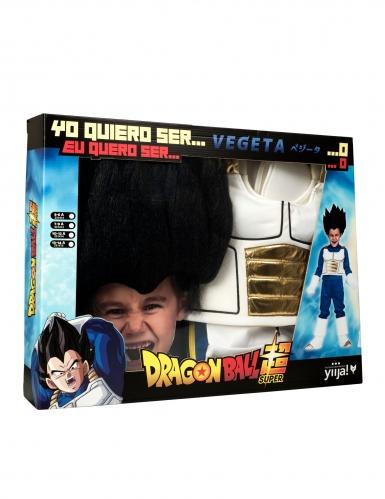 Cofre disfraz con peluca Vegeta Dragon Ball™ niño-3