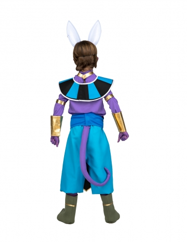 Disfraz con máscara Beerus Dragon Ball™ niño en caja-2