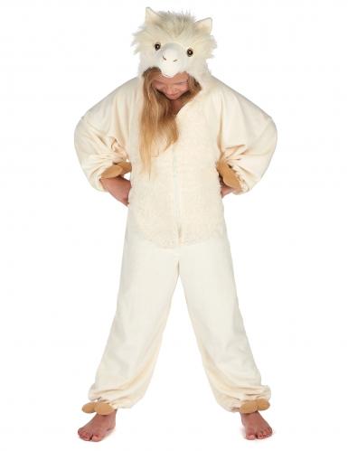 Disfraz llama niño -4
