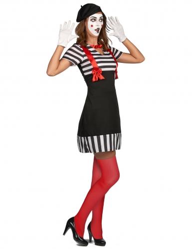 Disfraz mimo mujer-1