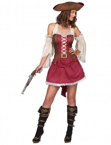 Disfraz pirata burdeo sexy mujer-1