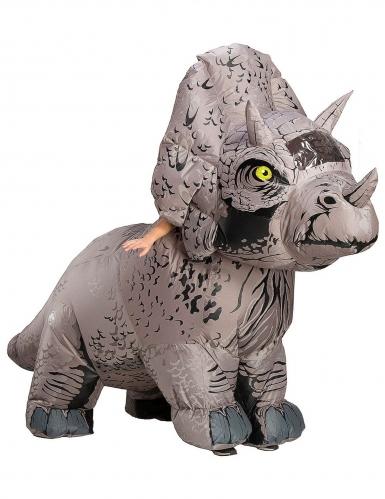 Disfraz hinchable triceratop Jurassic World Fallen Kingdom™ adulto