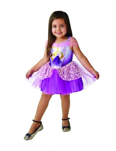 Disfraz princesa Rapunzel™ bailarina niña-2