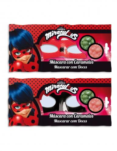 Máscara con caramelos Ladybug™-1
