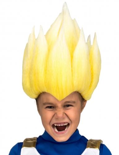 Peluca Super Saiyan Vegeta Dragon Ball™ niño