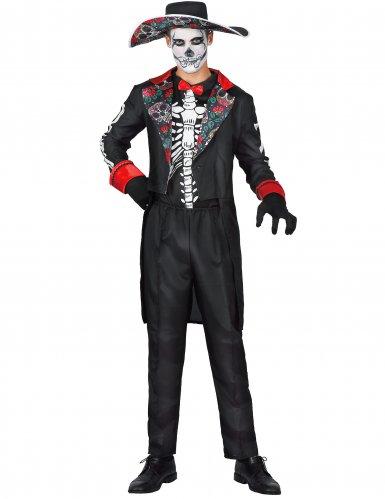 Disfraz Día de los muertos hombre