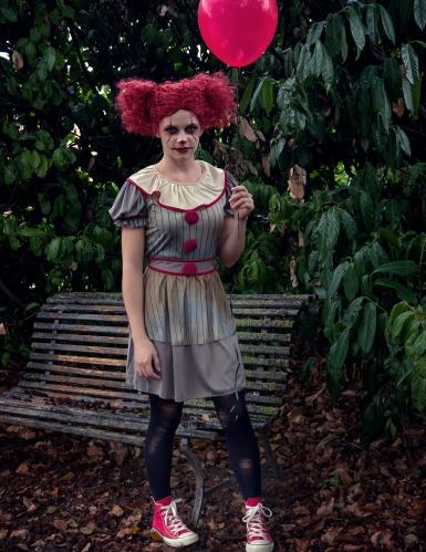Disfraz payaso enloquecido mujer-2