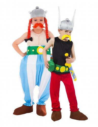 Disfraz pareja Astérix™ y Obélix™ niños