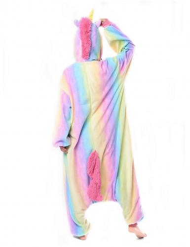 Disfraz Kigurumi™ unicornio arcoíris adulto-1