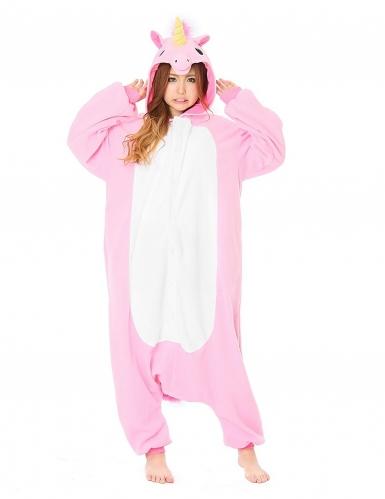Disfraz Kigurumi™ unicornio rosa adulto