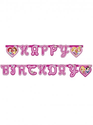 Guirlanda happy birthday princesas Disney Dreaming™
