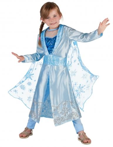 Disfraz Princesa azul glacial niña