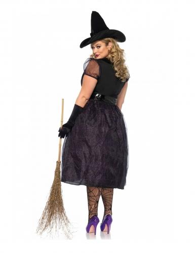 Disfraz lujo bruja talla grande mujer-1