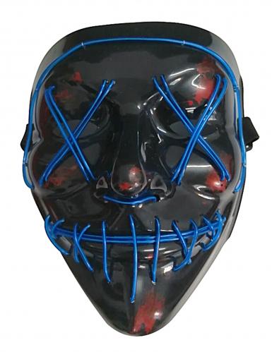 Máscara LED luz azul adulto-1