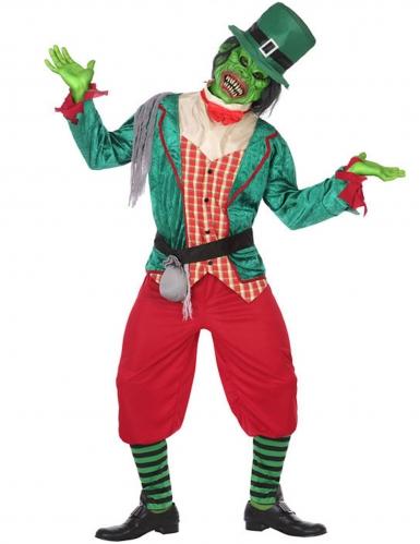 Disfraz Leprechaun zombie hombre