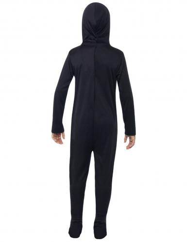 Disfraz esqueleto mono negro niño-1