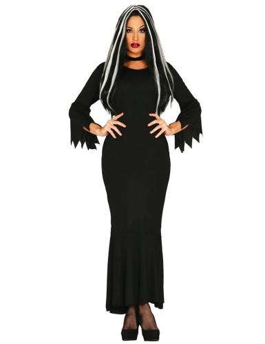 Disfraz dama oscura mujer talla grande