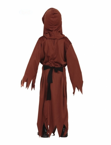 Disfraz monje esqueleto niño-1