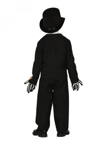 Disfraz esqueleto elegante niño-1