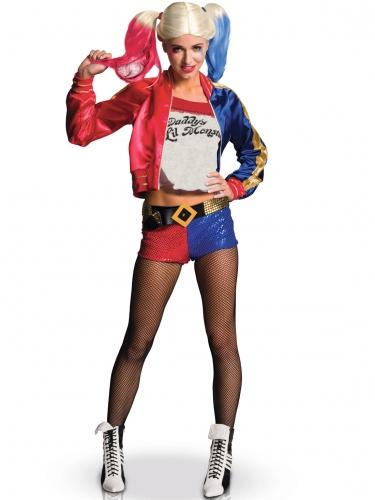 Kit disfraz y accesorios Harley Quinn mujer-1