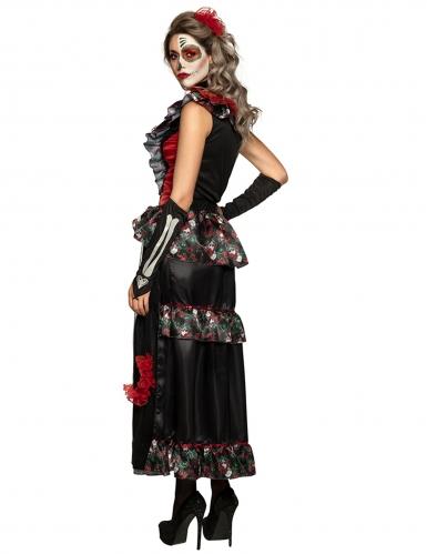 Disfraz Día de los muertos encantadora mujer-2