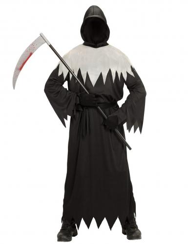 Disfraz segador negro y blanco adulto
