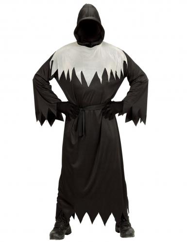 Disfraz segador negro y blanco adulto-1
