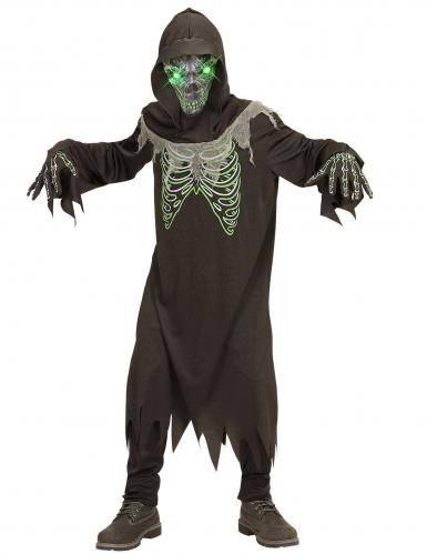 Disfraz segador negro y verde niño