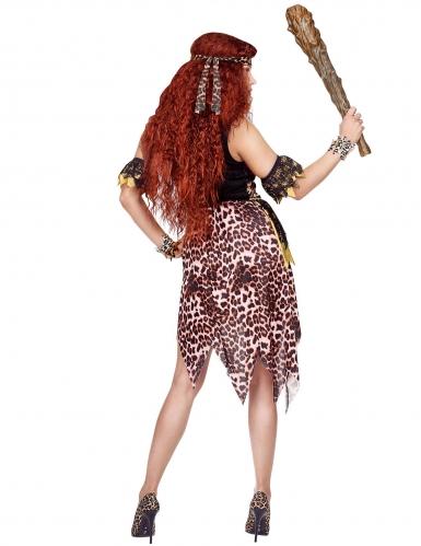 Disfraz líder vudú leopardo mujer-1