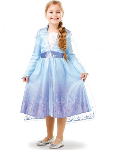 Disfraz clásico Elsa Frozen 2™ niña