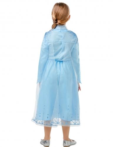 Disfraz clásico Elsa Frozen 2™ niña-2