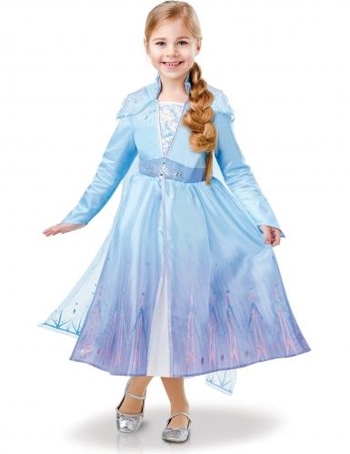 Disfraz de lujo Elsa Frozen 2™ niña