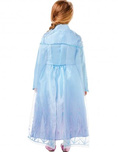 Disfraz de lujo Elsa Frozen 2™ niña-1