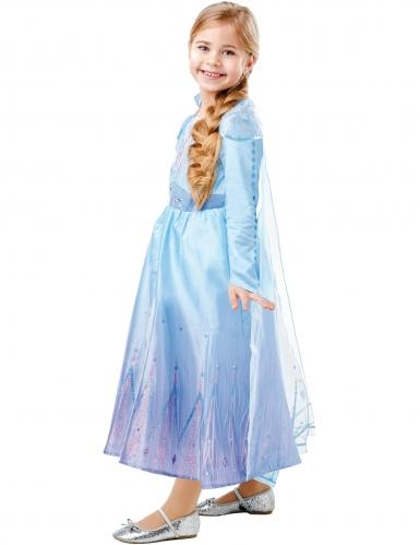 Disfraz de lujo Elsa Frozen 2™ niña-2