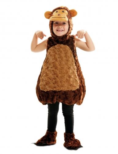 Disfraz de mono peluche niño