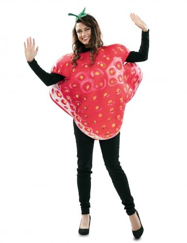 Disfraz fresa gigante adulto