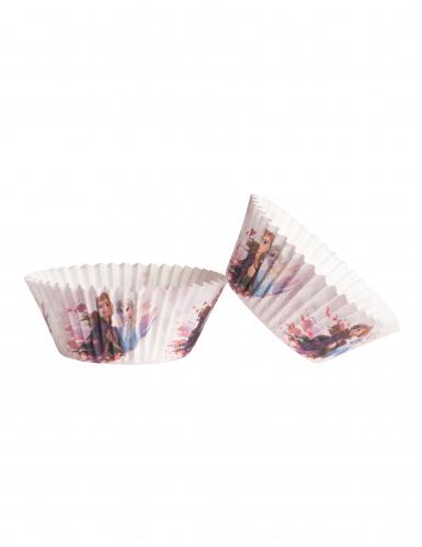 25 Moldes para cupcake de papel Frozen™ 5 x 3 cm