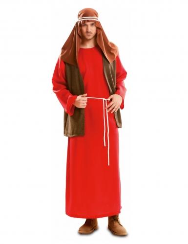 Disfraz San José rojo hombre